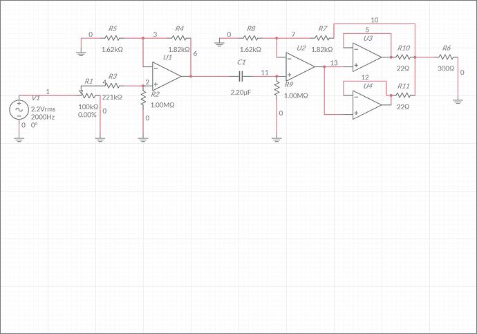 op amp ampli-schematic