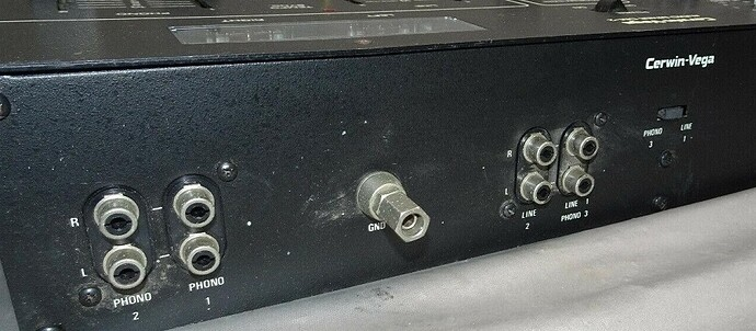 Back of mixer left side RS 1
