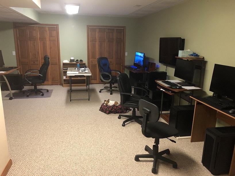 PC lab area